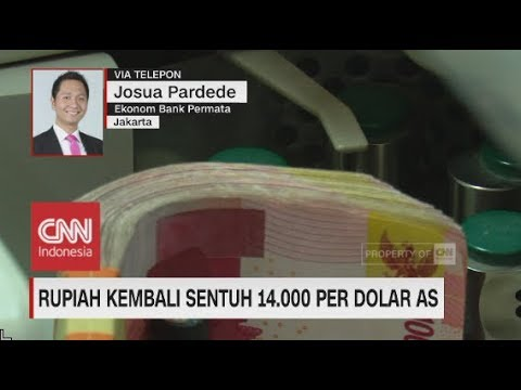 Rupiah Kembali Sentuh 14.000 Per Dolar AS - Josua Pardede, Vice President Ekonom Bank Permata