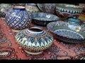 Vidéo de l'#Ouzbekistan l'#artisanat  traditionnel Ouzbek