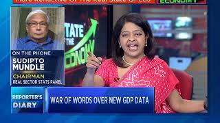 Political Slugfest Over Back Series GDP Data