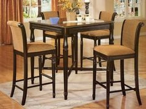 Tall Kitchen Table Tall kitchen tables youtube tall kitchen tables workwithnaturefo