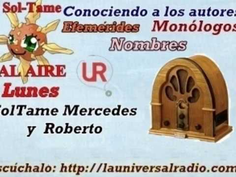 ConociendoALosAutores 31 03 14 ANA ESMERALDA la universal radio