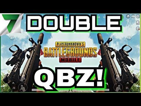 SANHOK DOUBLE QBZ NEW GUN GAMEPLAY!! FIRST MATCH IN LIGHTSPEED!! | PUBG MOBILE
