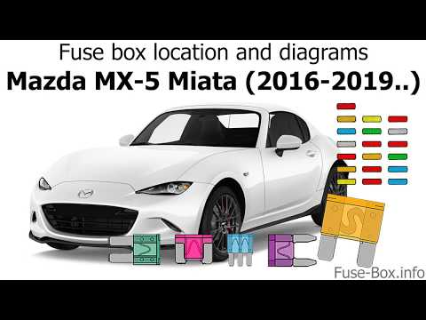 Fuse Box Location And Diagrams: Mazda MX-5 Miata (2016-2019..)