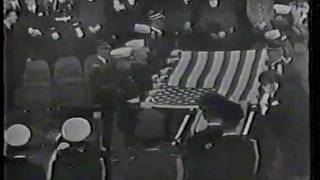 John F Kennedy Funeral Graveside Ceremonies Nov 25, 1963