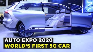 Auto Expo 2020: Roewe Vision-I Concept 5G Car