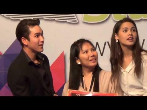 ขอกอดด้วยได้ป่ะ..ถามณเดชน์สิ /TV 3 Fanclub Award/ TV3 Star Chat 2557
