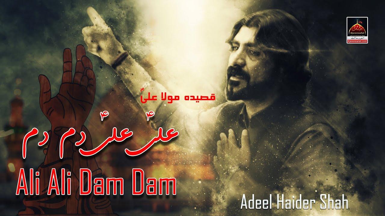 Qasida Ali Ali Dam Dam Adeel Haider Shah 2019 Youtube