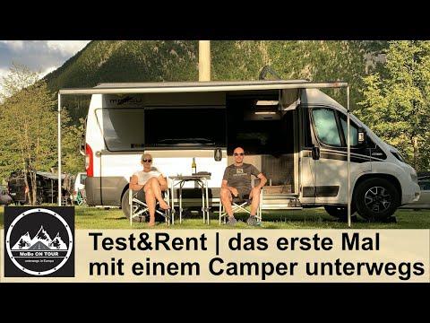 Test&Rent | das erste Mal mit einem Kastenwagen unterwegs
