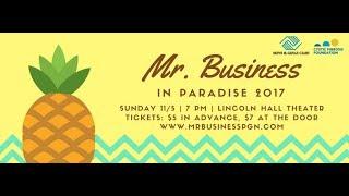 Mr. Business 2017 Promo