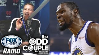 Chris Broussard on Kevin Durant Responding To Him on Twitter