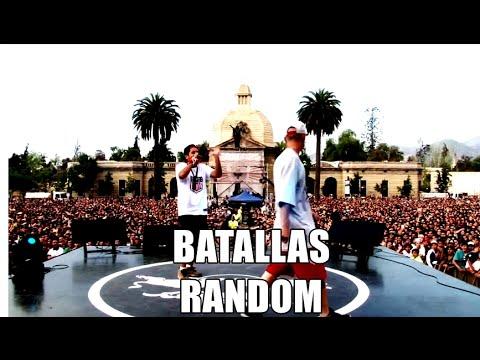 TOP #5 - BATALLAS RANDOM FAVORITAS