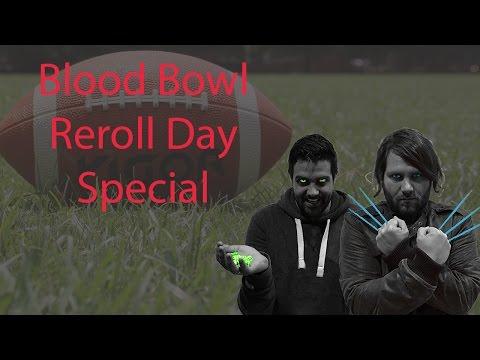Blood Bowl ReRollDay-Special - Menschen VS Orks - Halbzeit 1