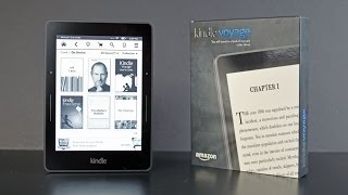 Amazon Kindle Voyage: Unboxing & Review