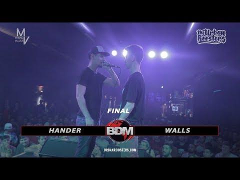 HANDER vs WALLS || FINAL || BDM NACIONAL (ESPAÑA) || MAKING VISUALS