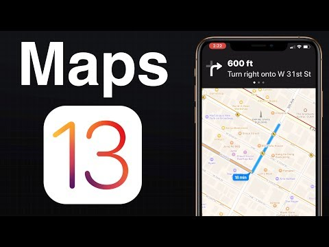 Maps: What's New in iOS 13