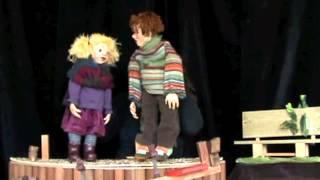 Poppentheater de Duizendpoot met de voorstelling Pim en Pommelien