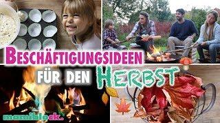 Ideen für den Herbst 🍂🍄| Beschäftigung mit Kindern | mamiblock