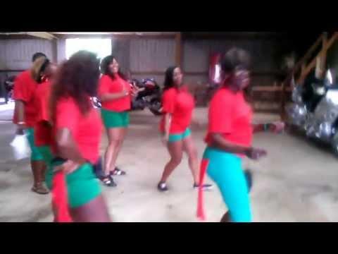 Sylky Slide demo by The Bama Gurlz SSC Anniston Alabama