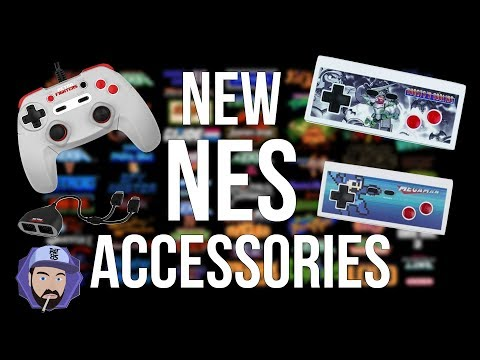 New NES Accessories For 2017 - Make Your NES Controller Modern | RGT 85