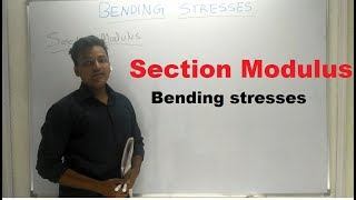 Section Modulus [ Hindi ] - Strength of Materials