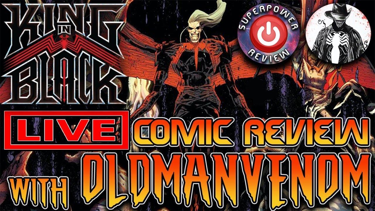 King in Black #2 LIVE Comic Review with OldManVenom