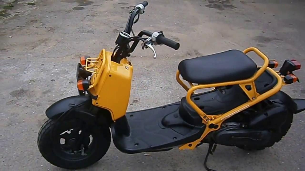 Скутер Honda Zoomer от Компании САН-МОТО | Мото Скутера Хонда