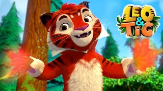 LEO and TIG 🦁 Full episodes collection (16-21) 🐯 Good Animated ❤️ Moolt Kids Toons Happy Bear