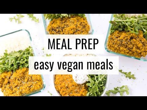 3. VEGAN MEAL PREP | quick & easy recipes
