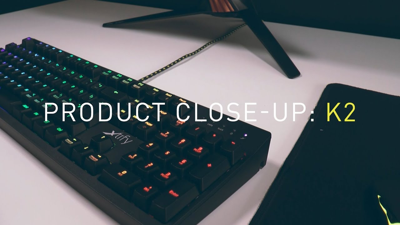 Product Close-Up: K2-RGB Mechanical Gaming Keyboard