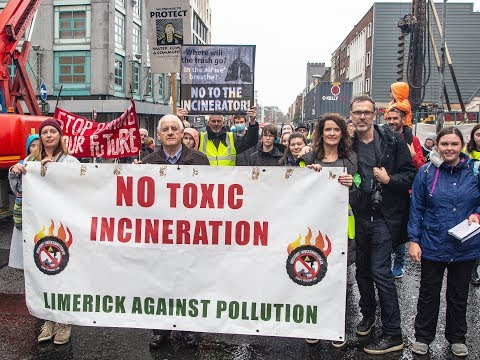 Limerick Against Pollution protest