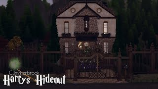 THE SIMS 4 : SPEEDBUILD |REALM OF MAGIC  | HARRY´S HIDEOUT | DL+CC