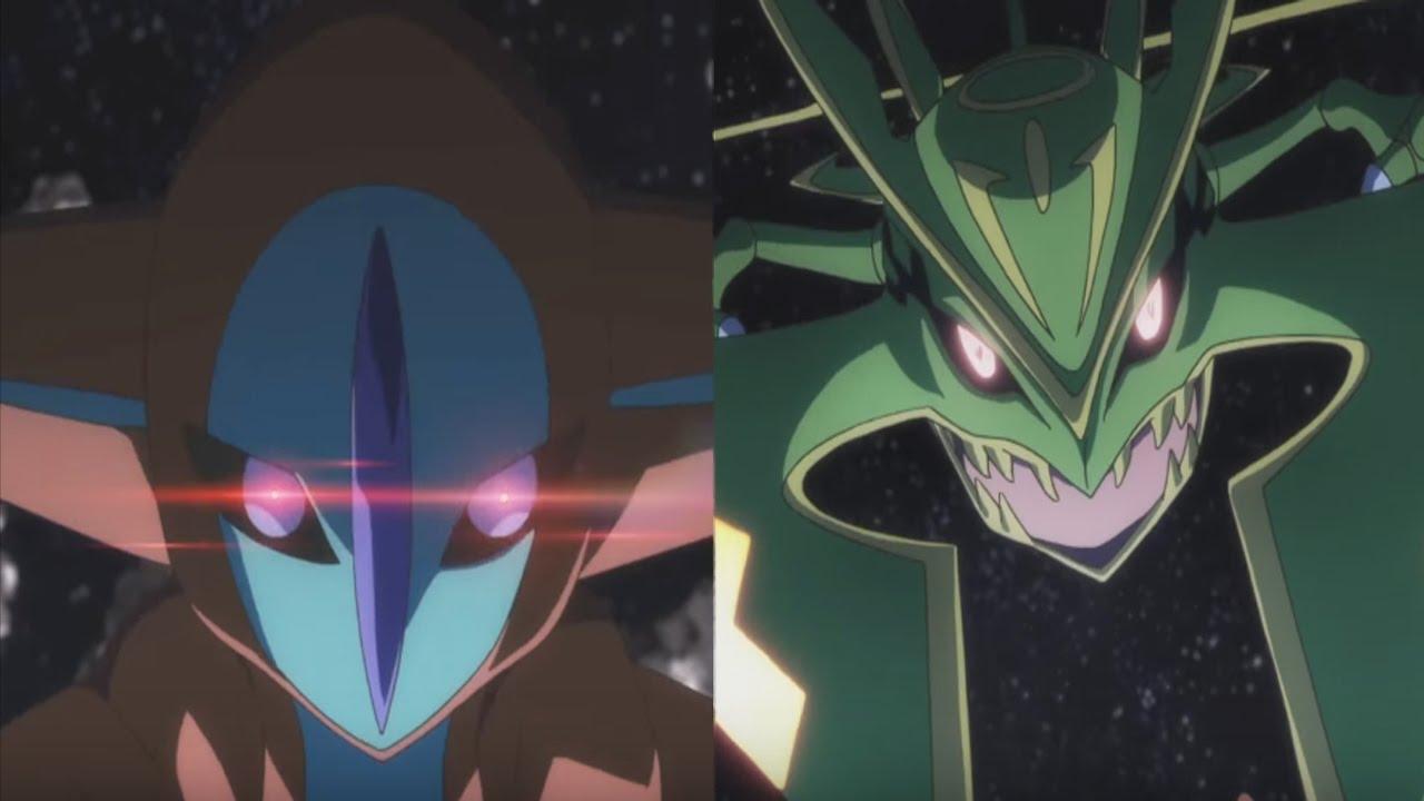 pokémon generations episode 9 the scoop review deoxys vs mega