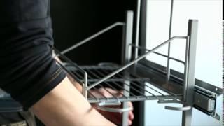 Inaria liukuovikaapin asentaminen