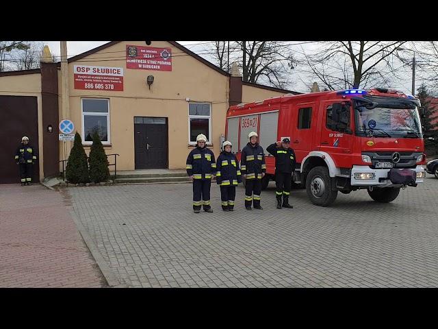 Upamiętnienie Prezydenta Gdańska Pawła Adamowicza - 19.01.2019 r. - 12:00 - OSP Słubice