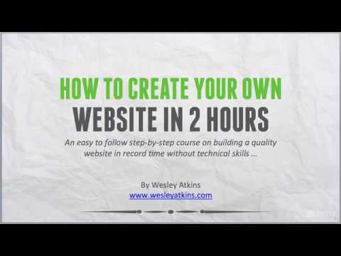 [ Create Your Own Website ] 3. SEO considerations