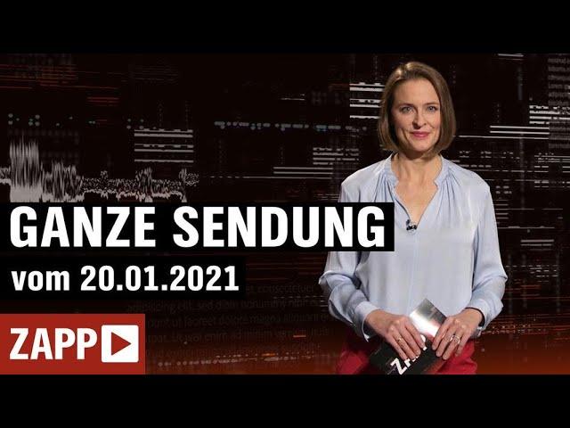 ZAPP: Joe Biden; Handys als Waffe; Fixer in Bergkarabach  | ZAPP | NDR