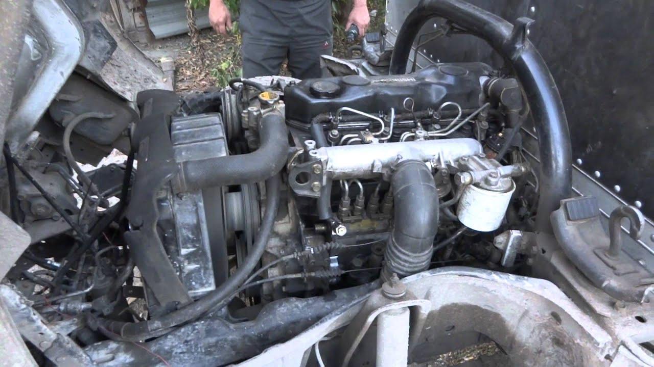 двигатель митсубиси кантер 4м50