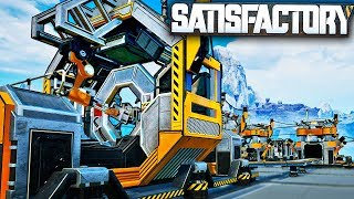 Automating Reinforced Plates, Rotors... EVERYTHING! | Satisfactory Early Access Alpha Gameplay Ep 4
