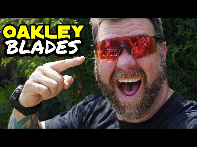 The best glasses for Trail Riding! - Oakley EVzero Blades w/Trail Prizm lenses - 90 Second Review