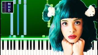 Melanie Martinez - Fire Drill (Piano Tutorial Easy) видео