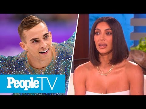 Kim Kardashian Says Kanye Played Connect 4 During Delivery, Adam Rippon On DWTS   PeopleTV