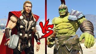 THOR vs HULK!