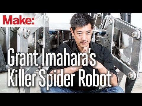 Grant Imahara's Giant Killer Spider Robot