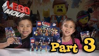 LEGO MOVIE MINIFIGURES!!! Box of Blind Bags Opening - PART 3