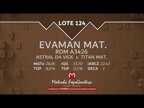 LOTE 124 MATINHA EXPOGENÉTICA 2021