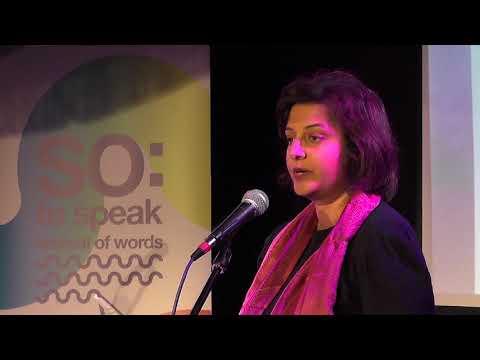 Susmita Bhattacharya @ SO: To Speak 2017Susmita