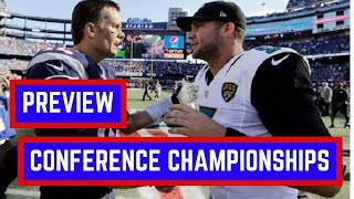 NFL Conference Championship Picks and Preview | NFL Playoffs 2018