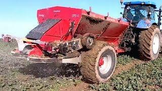 Widzieliście 16-tonowy rozsiewacz nawozów? Polski producent