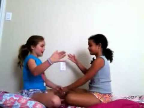 "Learn FUN hand clapping game ""Down Down Baby"""