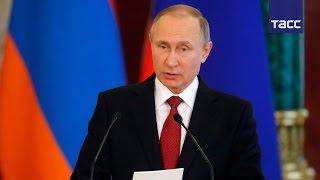 Путин  Россия заинтересована в стабильной и независимой Армении
